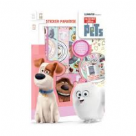 The Secret life of Pets sticker paradise (Code 3151)